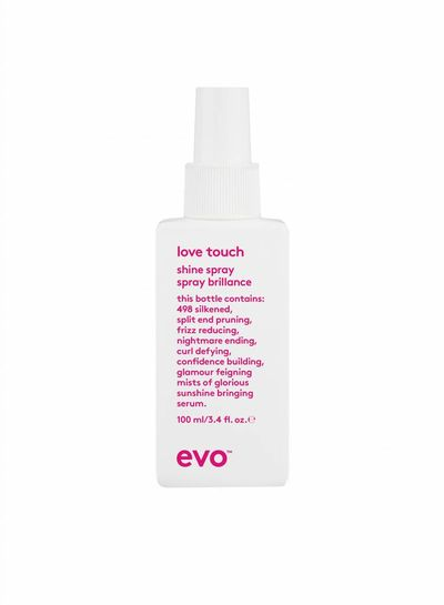 evo® love touch shine spray