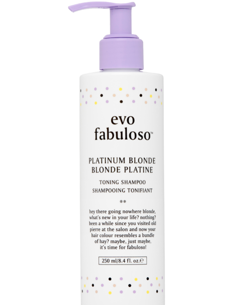 EVO FAB Platinum Blonde Toning Shampoo